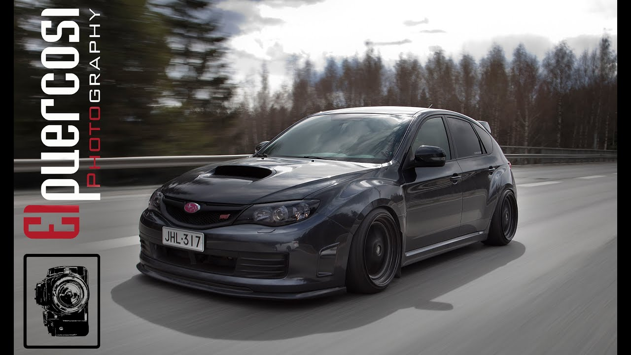 Elpuercosi 180 S Stanced Subaru Impreza Wrx Sti Photo Shoot Ft