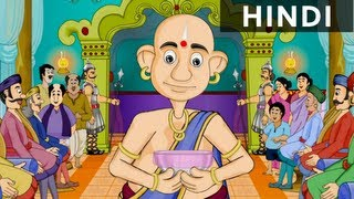 Root Of Rassagulla - Tales Of Tenali Raman In Hindi - Animated/Cartoon Stories For Kids