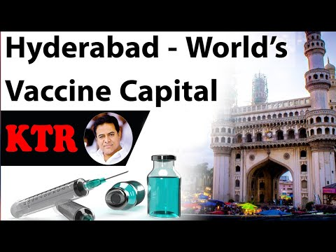 Hyderabad is World Vaccine Capital: KTR