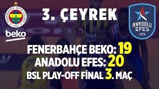Gambar cover Fenerbahçe Beko - Anadolu Efes Final Serisi Üçüncü Maç 3. Çeyrek (Tüm Basketler)
