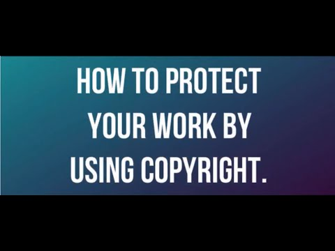 How to Protect your Work using Copyright? (Hindi)