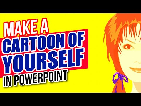 How to Make a Cartoon of Yourself in PowerPoint - Advanced Animation Tutorial