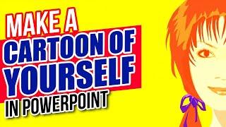 Cómo Hacer una Caricatura de sí Mismo en PowerPoint - Animación Avanzada Tutorial