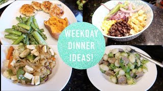 Quick, Healthy, & Simple Dinner Inspiration - Meals of the Week!
