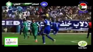اهداف مبارة الهلال و الاهلي الليبي  1-0 ضربة الجزاء مدثر كاريكا  Al Hilal vs Al Ahli Tripoli