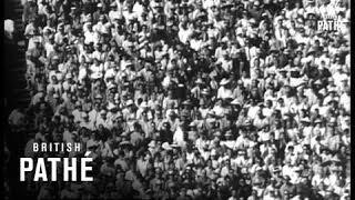 U.S.A. V. Russia Athletics Match In California (1962)