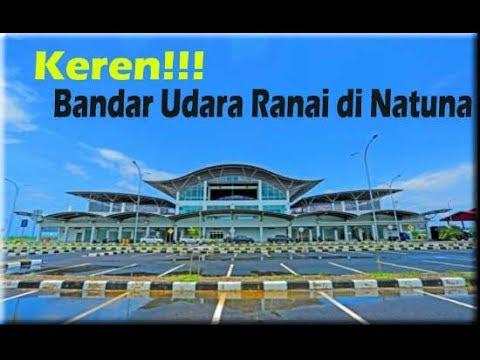 Keren!! Penampakan Bandar Udara Ranai di Natuna Kepulauan Riau
