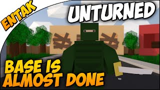 Unturned Multiplayer ➤ Our Base Is Pretty Much Done & Maze Plans [multiplayer Gameplay #77]