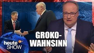 Chaostage bei der Groko: Wird Maaßen befördert oder nicht? | heute-show vom 21.09.2018