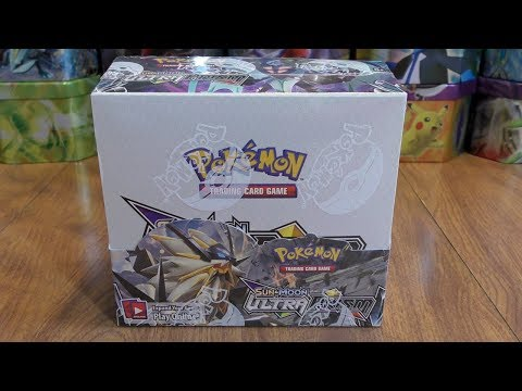 Pokemon Ultra Prism Booster Box Opening Pt. 1