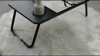 Folding laptop table, Bed table