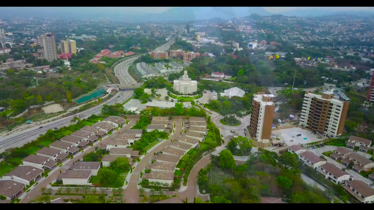 drone flight over san salvador 1 youtube