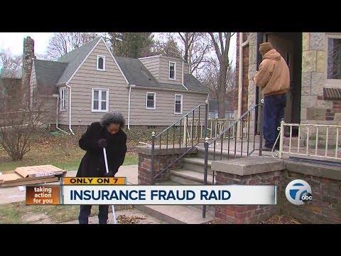 Insurance fraud raid