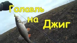 Голавль на джиг Осеняя рыбалка на спиннинг