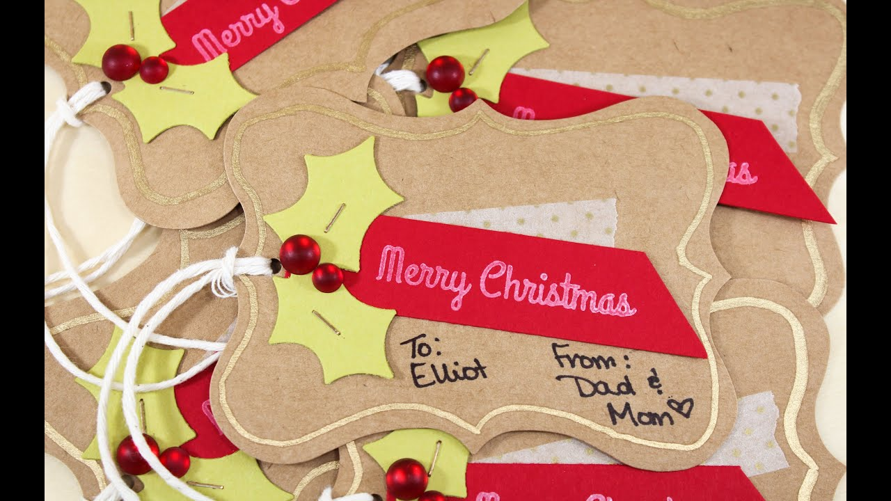Handmade Tags In A Hurry - Shortcuts For Making Handmade Gift Tags ...