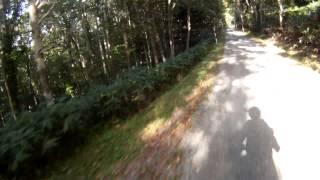 Honda XLX250R GoPro HelmetCamera トマム→幾寅オフロード