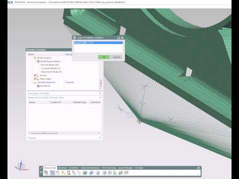 NX 9 - Advanced Durability (via NX Response Simulation)