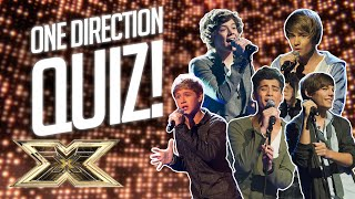 QUIZ! How well do you know One Direction? | 10 Years of 1D | The X Factor UK