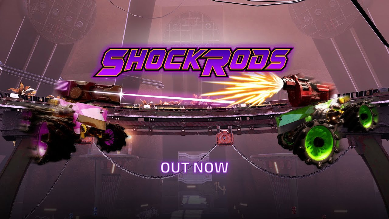 ShockRods Gameplay Trailer - Out Now