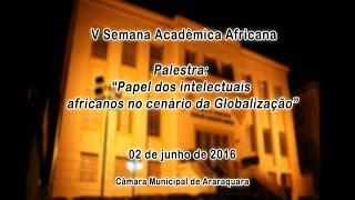 V Semana Acadêmica Africana 02/06/2016