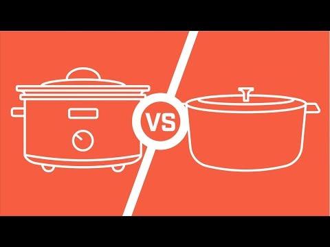 Marquette Castings Cooking - Crockpot Vs Dutch Oven TasteTest