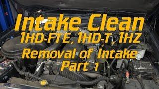 EGR Delete, Intake clean: [Part 1] Intake Strip