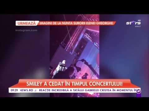 Smiley a izbucnit în lacrimi, în timp ce era pe scenă, la concertul aniversar!