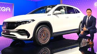 2021 Mercedes EQA - NEW SUV Full Review Interior Exterior