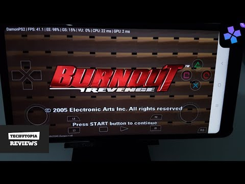 Burnout Revenge DamonPS2 Pro PS2 Games On Smartphones/Android/Gameplay