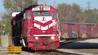 Indiana Rail Road Senate Avenue Action
