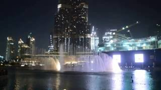 Dubai ( fountain dance )