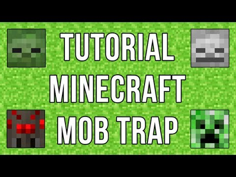 minecraft how to build a mob trap
