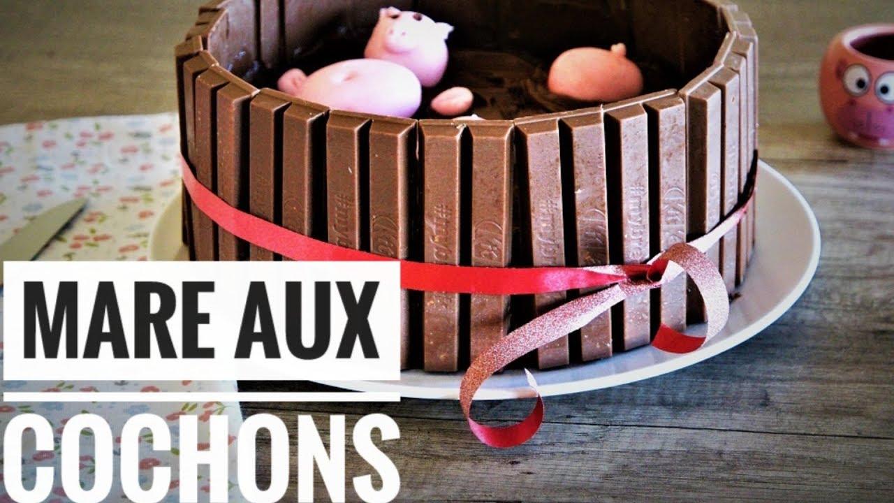 Gateau La Mare Aux Cochons Youtube