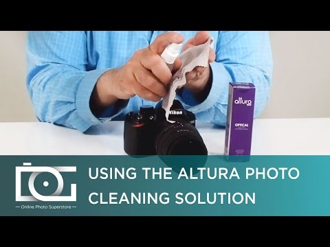 Optical Spray Cleaner For Your DSLR Camera, Glasses, Electronic Devices & Others | By Altura Photo®