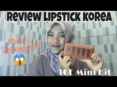 review-lipstik-3ce-mini-kit-|-first-impressions!!-korean-makeup-style!!!