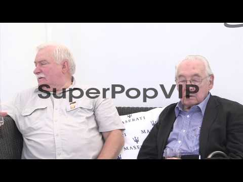 INTERVIEW - Andrzej Wajda and Lech Walesa on figures of i...