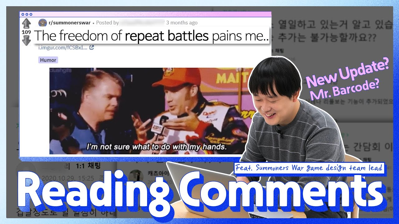 ※Repeat Battle Update※ SW Game Design Team Lead Reads Your Comments