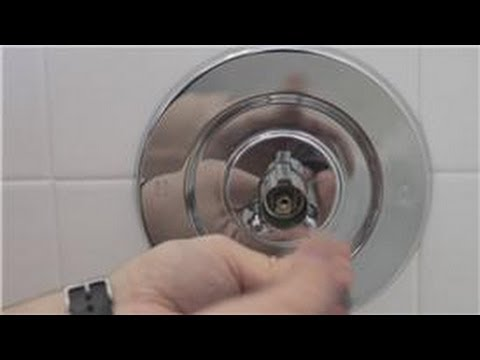 Faucet Repair : How to Repair a Leaky Shower Faucet - YouTube