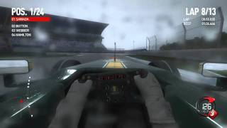 F1 2010 第11戦 ドイツGP ホッケンハイム 決勝「最後列からスタート♪」