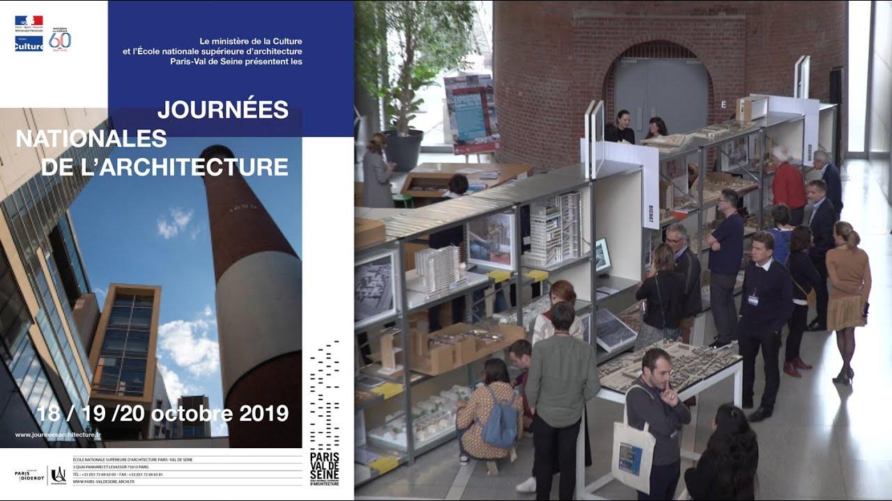 Ensa Paris Val De Seine retour sur les journées nationales de l'architecture à l'ensa paris-val de  seine