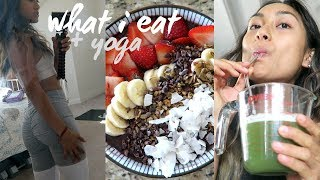 WHAT I EAT IN A DAY  SELF CARE, VEGAN KETO RECIPE BOOK, + YOGA #Vegan