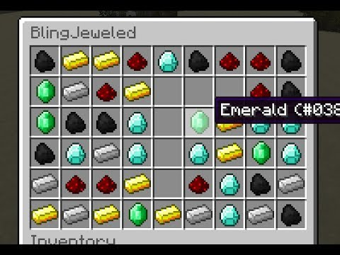 Bejeweled in Minecraft