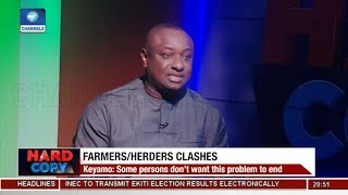 Politicians Are Capitalizing On Farmers/Herders Clashes - Keyamo | Hard Copy |