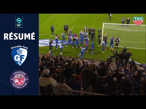 GRENOBLE FOOT 38 - TOULOUSE FC(5 - 3 ) - Résumé - (GRENOBLE  - TOULOUSE FC) / 2020/2021