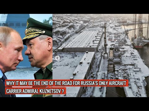 ADMIRAL KUZNETSOV HAS SEEN NO WORK POSSIBLY FOR MORE THAN A YEAR WHILE NEW WARSHIP BEING FUNDED !