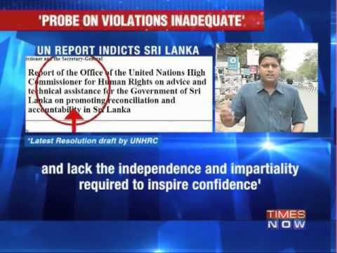 UN report indicts Sri Lanka.