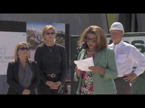 Brighline West Palm Beach Station Topping Out