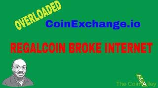 RegalCoin Broke Internet | Trading upwards of 0.005 BTC in minutes