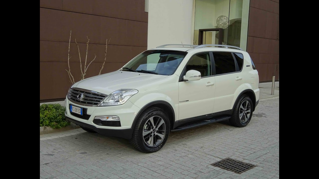test drive ssangyong rexton w diesel 2 2 top 178 cv youtube. Black Bedroom Furniture Sets. Home Design Ideas