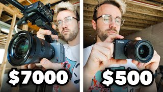 Can You Tell The Difference Between A $500 Camera and a $7000 Camera